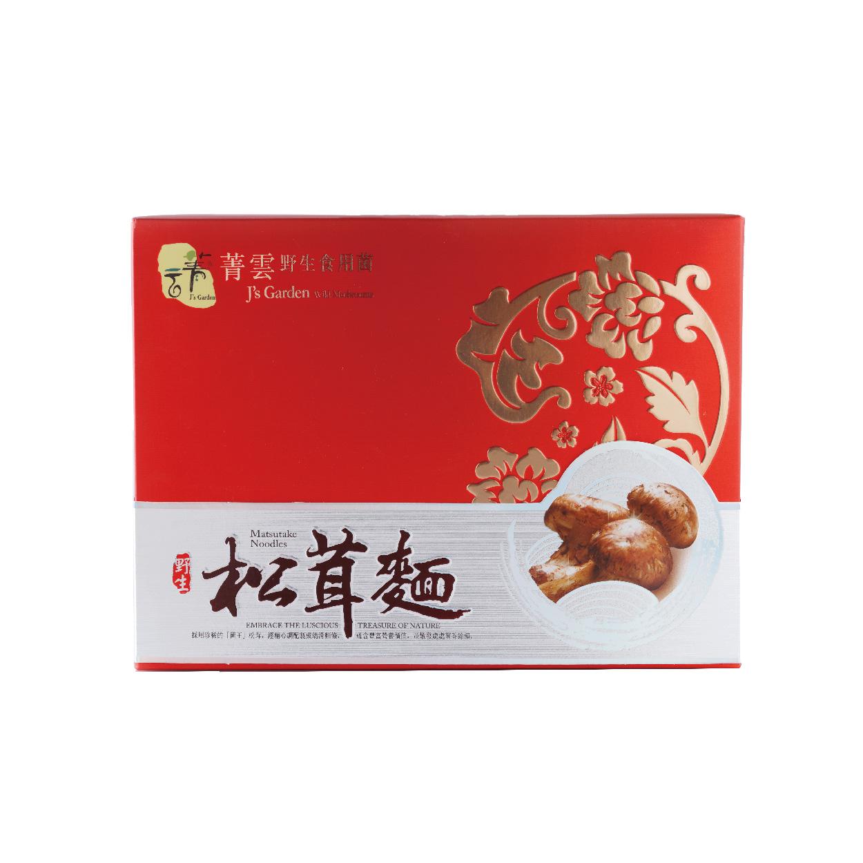 野生松茸麵禮盒 300g