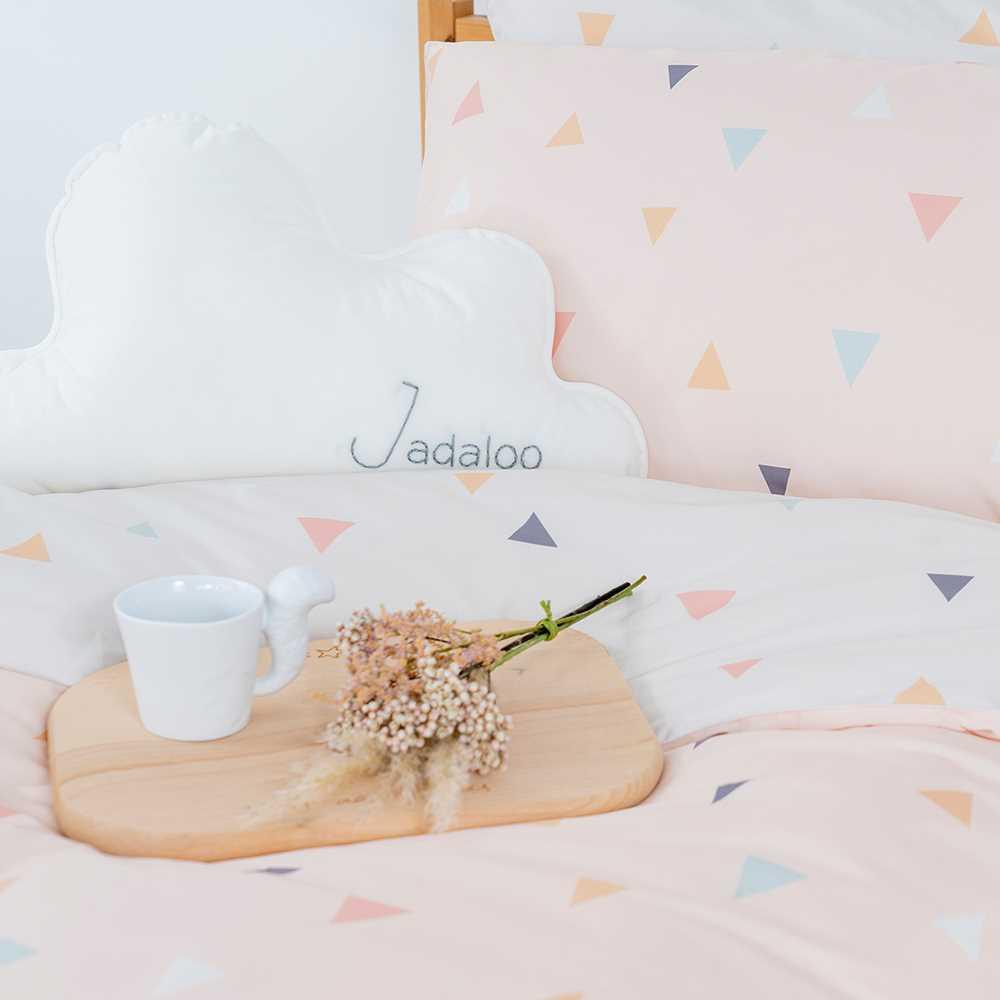 Jadaloo Anti-Dustmite Duvet Cover and Pillow Case Set JL-TS-02 - Juni Peach