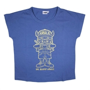 Dr. Slump Ladies Cotton T-Shirt 201AQ115 - Blue