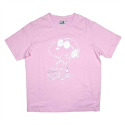 Snoopy Ladies Cotton T-Shirt 201AG102 - Pink