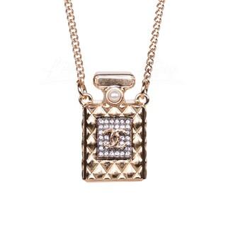 Chanel 金色香水瓶項鏈