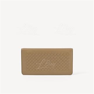 Bottega Veneta 奶茶色 長型鏈帶銀包手袋WOC
