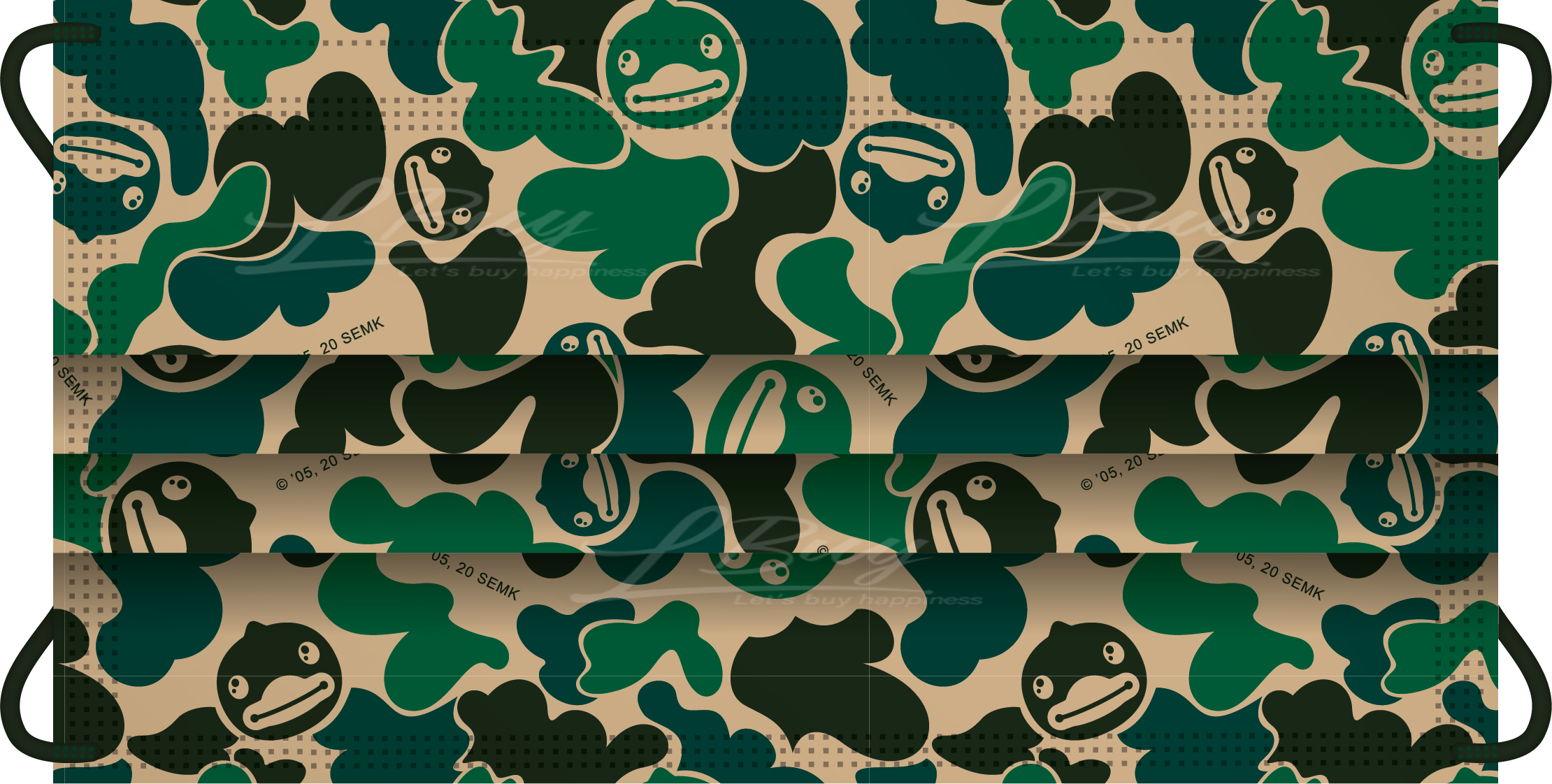 MainettiCare x B. Duck 假日特別版一次性立獨包裝口罩 30片裝