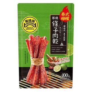 黑橋牌 泰式檸檬厚燒條子肉乾 (125g)