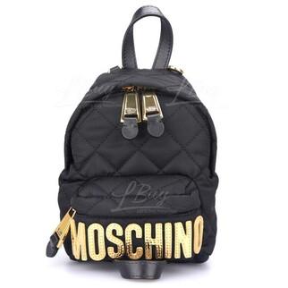 Moschino 金色logo 黑色 背囊 斜揹袋