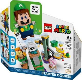 LEGO 71387 超級瑪利歐™ 路易吉冒險主機