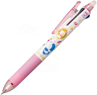多啦A夢 粉紅擦得甩三色筆