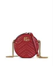 GG Marmont Round Mini Shoulder Bag