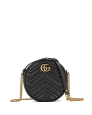 GG Marmont Round Mini Shoulder Bag 5501540OLET