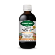 New Zealand Thompson's MANUKA MUCUS COUGH RELIEF KIDS