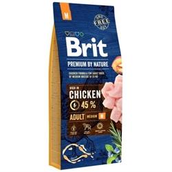 Brit Premium 中型成犬糧 (中粒) 15KG