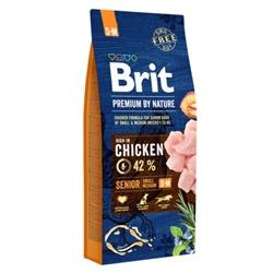 Brit Premium 小/中型老犬 15KG