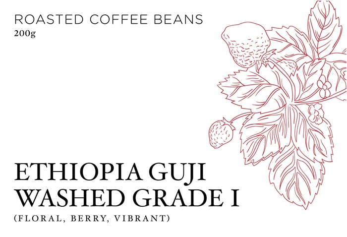 ETHIOPIA GUJI QUALITY ONE WASHED