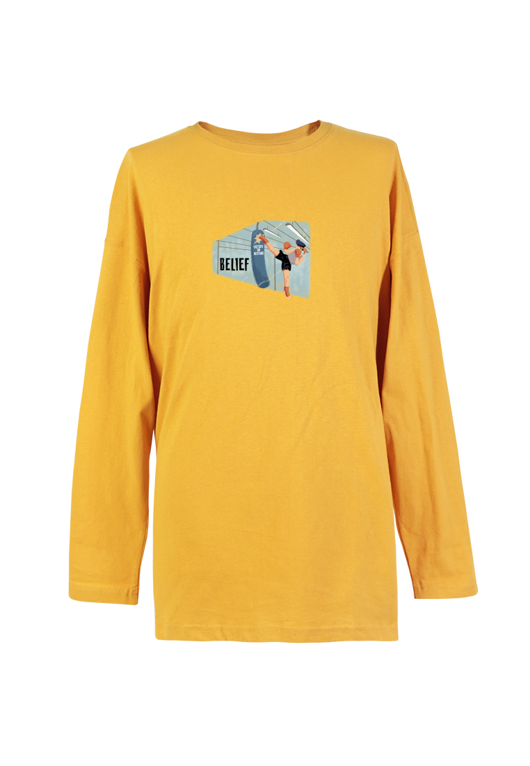 BSX Long Sleeve Regular Fit Printed T- shirt 10408069821